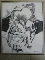 N. SAFTOIU- GRAFICA IN PENITA