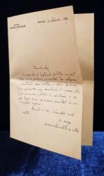 Nicolae Iorga - Scrisoare originala, Adunarea Deputatilor