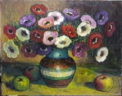 Nicolcea Spineni - Vas cu flori