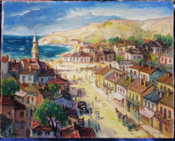 Nicolcea Spineni, Vedere din Balcic