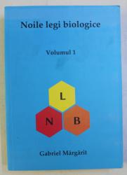 NOILE LEGI BIOLOGICE - MANUAL DE STUDIU VOL. I ED. a - IV - a de GABRIEL MARGARIT , 2020