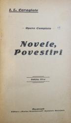 NOVELE , POVESTIRI de I.L. CARAGIALE , EDITIA A IV -A , SERIA