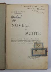NUVELE SI SCHITE de IOAN AL. BRATESCU - VOINESTI , 1903 , PREZINTA PETE SI URME DE UZURA ,LIPSA COPERTE ORIGINALE