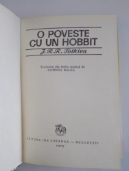 O POVESTE CU UN HOBBIT de J.R.R TOLKIEN 1975