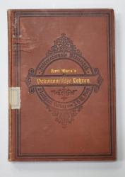 Oekonomische Lehren de Karl Marx - STUTTGART, 1903