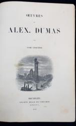 OEUVRES DE ALEX. DUMAS, TOME V - BRUXELLES, 1843
