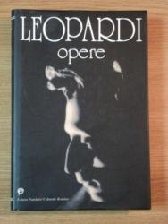 OPERE de GIACOMO LEOPARDI  1999