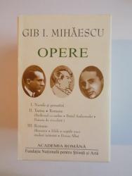 OPERE de GIB I. MIHAESCU VOL I-III 2008