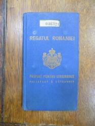 Pasaport Carol II, 1933