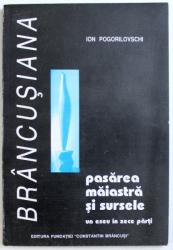 PASAREA MAIASTRA SI SURSELE - UN ESEU IN ZECE PARTI de ION POGORILOVSCHI , 1995