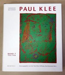 PAUL KLEE - CATALOGUE RAISONNE VOL. 7 (1934 -1938) , 2003