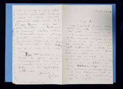 PAUL ZARIFOPOL  SCRISOARE 1924(?)
