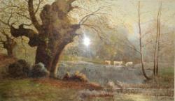 Peisaj de toamna, I. H. Merle 1909