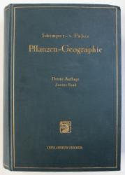 PFLANZENGEOGRAPHIE - AUF PHYSIOLOGISCHER GRUNDLAGE von A.F. W. SCHIMPER und F.C. von FABER , VOL. II, 1935