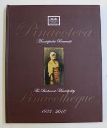PINACOTECA MUNICIPILUI BUCURESTI 1933 - 2018 , ALBUM FILATELIC ILUSTRAT , EDITIE BILINGVA ROMANA - ENGLEZA , 2018 , LIPSA TIMBRE *