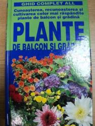 PLANTE DE BALCON SI GRADINA, BUC. 2001