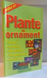 PLANTE DE ORNAMENT , GRADINA DE FLORI , 2001