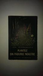 PLANTELE DIN PADURILE NOASTRE de ION SERBANESCU  1959