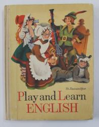 PLAY AND LEARN ENGLISH by SH. HAMAMDJIAN , 1982