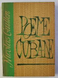 POEME CUBANEZE de NICOLAS GUILLEN , 1963