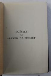 POESIES par ALFRED DE MUSSET , 1933
