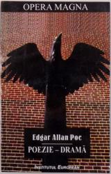 POEZIE - DRAMA , ED. BILINGVA de EDGAR ALLAN POE, 2001