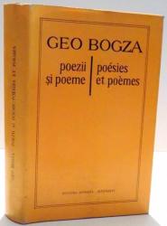 POEZII SI POEME de GEO BOGZA , 1979