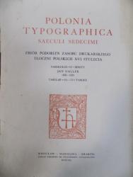 Polonia Typografica saeculi sedecimi, Fasciculus IV, Jan Haller 1505 - 1525