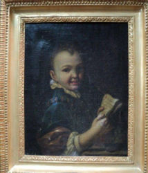 Portret de copil, Antonio Amorosi (1660 - 1738)