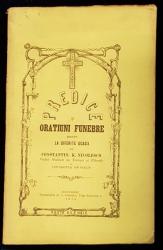 PREDICE SI ORATIUNI FUNEBRE TINUTE LA DIFERITE OCASII de CONSTANTIN K. NICOLESCO - BUCURESTI, 1874