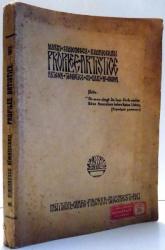 PROPILEE ARTISTICE, ARTICOLE TEORETICE SI DARI DE SEAMA de MARIN SIMIONESCU RIMNICEANU , 1913