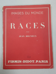 RACES par JEAN BRUNHES - PARIS, 1930
