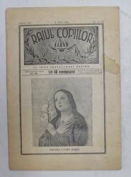 RAIUL COPIILOR  - REVISTA RELIGIOASA  CATOLICA , ANUL VII , NR. 9- 10 , 6 MAI 1945