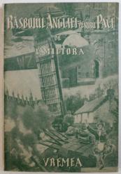 RASBOIUL ANGLIEI PENTRU PACE de C. MICIORA , 1939