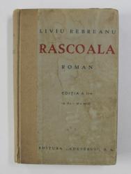 RASCOALA de LIVIU REBREANU , 1935
