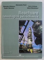 REACTOARE TEHNOLOGICE PETROCHIMICE VOL. I de ALECSANDRU PAVEL , GH. STANESCU , TOADER GAUREANU , ETC. , 2007 DEDICATIE*