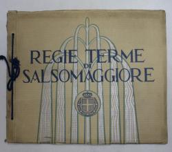 REGIE TERME DI SALSOMAGGIORE , ALBUM CU FOTOGRAFII DE EPOCA ,. PERIOADA INTERBELICA