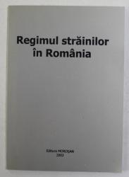 REGIMUL STRAINILOR IN ROMANIA , 2003
