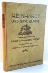 REINHARDT UND JEINE BUHNE von ERNST STERN UND HEINZ HERALD , 1919