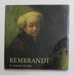 REMBRANDT by ANNEMARIE VELS HEIJN , WHIT 60 COLOURS ILLUSTRATIONS , 1981
