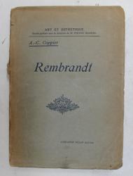 REMBRANDT par ANDRE - CHARLES COPPIER , 1920