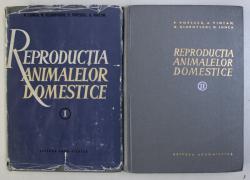 REPRODUCTIA ANIMALELOR DOMESTICE VOL. I - II de N. LUNCA , N. GLUHOVSCHI , P. POPESCU , A. VINTAN , 1989
