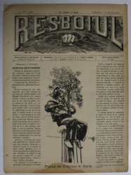 RESBOIUL  - ZIAR CU APARITIE ZILNICA , IN BUCURESTI , NR. 927  , DUMINICA  , 10   FEBRUARIE , 1880 , PREZINTA PETE