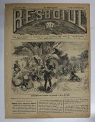 RESBOIUL  - ZIAR CU APARITIE ZILNICA , IN BUCURESTI , NR. 943  , MARTI  , 26   FEBRUARIE , 1880