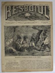 RESBOIUL  - ZIAR CU APARITIE ZILNICA , IN BUCURESTI , NR. 951   , MIERCURI ,  MARTIE , 1880 , PREZINTA PETE