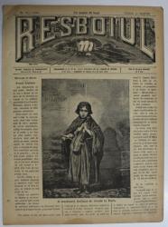 RESBOIUL  - ZIAR CU APARITIE ZILNICA , IN BUCURESTI , NR. 960   , VINERI ,  14 MARTIE , 1880 , PREZINTA PETE