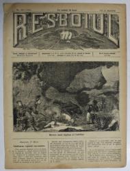 RESBOIUL  - ZIAR CU APARITIE ZILNICA , IN BUCURESTI , NR. 966   , JOI , 20 MARTIE , 1880 , PREZINTA PETE