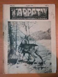 REVISTA CARPATII, VANATORE, PESCUIT, CHINOLOGIE, ANUL III, 15 MAIU, NR. 5 1935