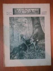 REVISTA CARPATII, VANATORE, PESCUIT, CHINOLOGIE, ANUL VI,  15 MAI CLUJ 1938, NR. 5