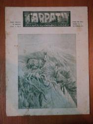 REVISTA CARPATII, VANATOARE, PESCUIT, CHINOLOGIE, ANUL VIII,  15 AUGUST CLUJ 1940, NR. 8